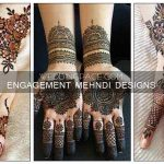 New style mehndi designs for engagement