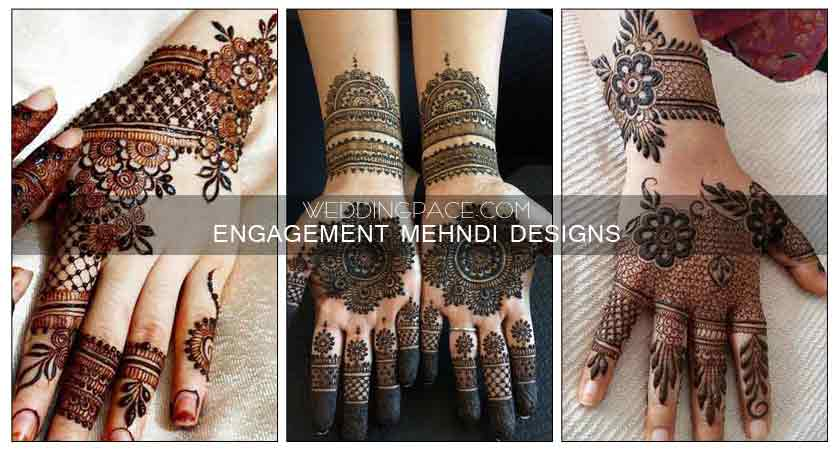 Latest Mehndi Designs For Engagement In 2018