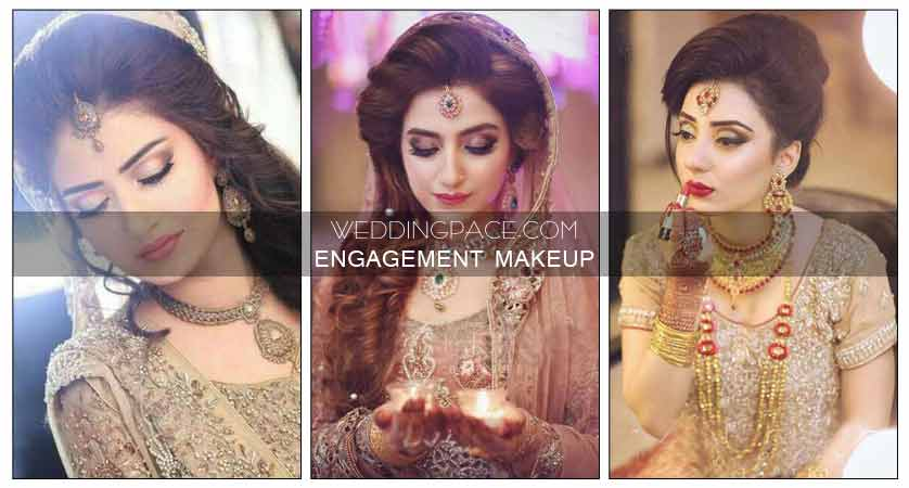 Pakistani Engagement Makeup For Brides In 2019