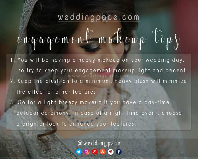 Best Pakistani engagement makeup tips for brides to be