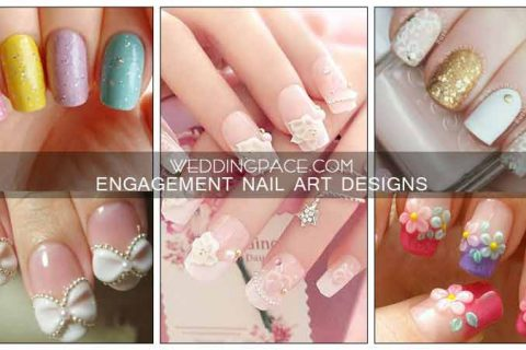 Best Pakistani engagement nail art designs for brides to be