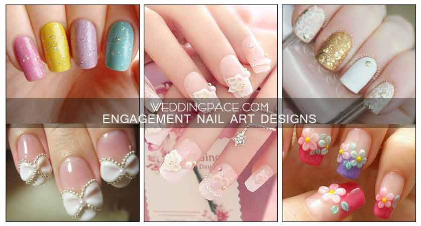 Pakistani Engagement Nail Art Designs For 2020