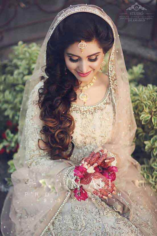 Bridal pakistani hairstyles for round faces photo new photo