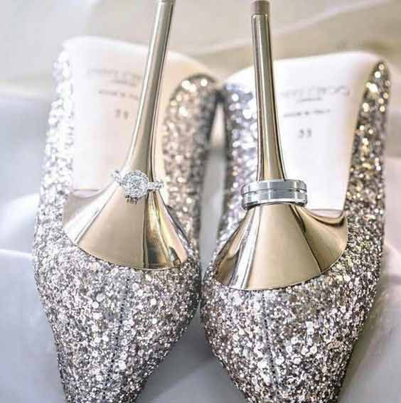 Best Pakistani engagement shoes for brides