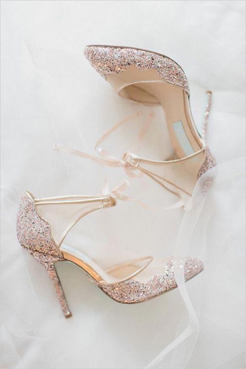 Latest Bridal engagement heels for Pakistani brides
