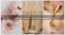 Pakistani Engagement Shoes For Bridals In 2018