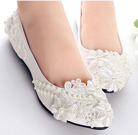 Latest Fancy flats for brides in Pakistan