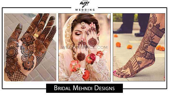 New Pakistani Bridal Mehndi Designs For 2020