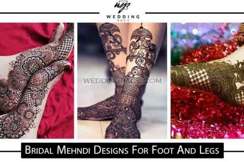 Top bridal foot and leg mehndi designs